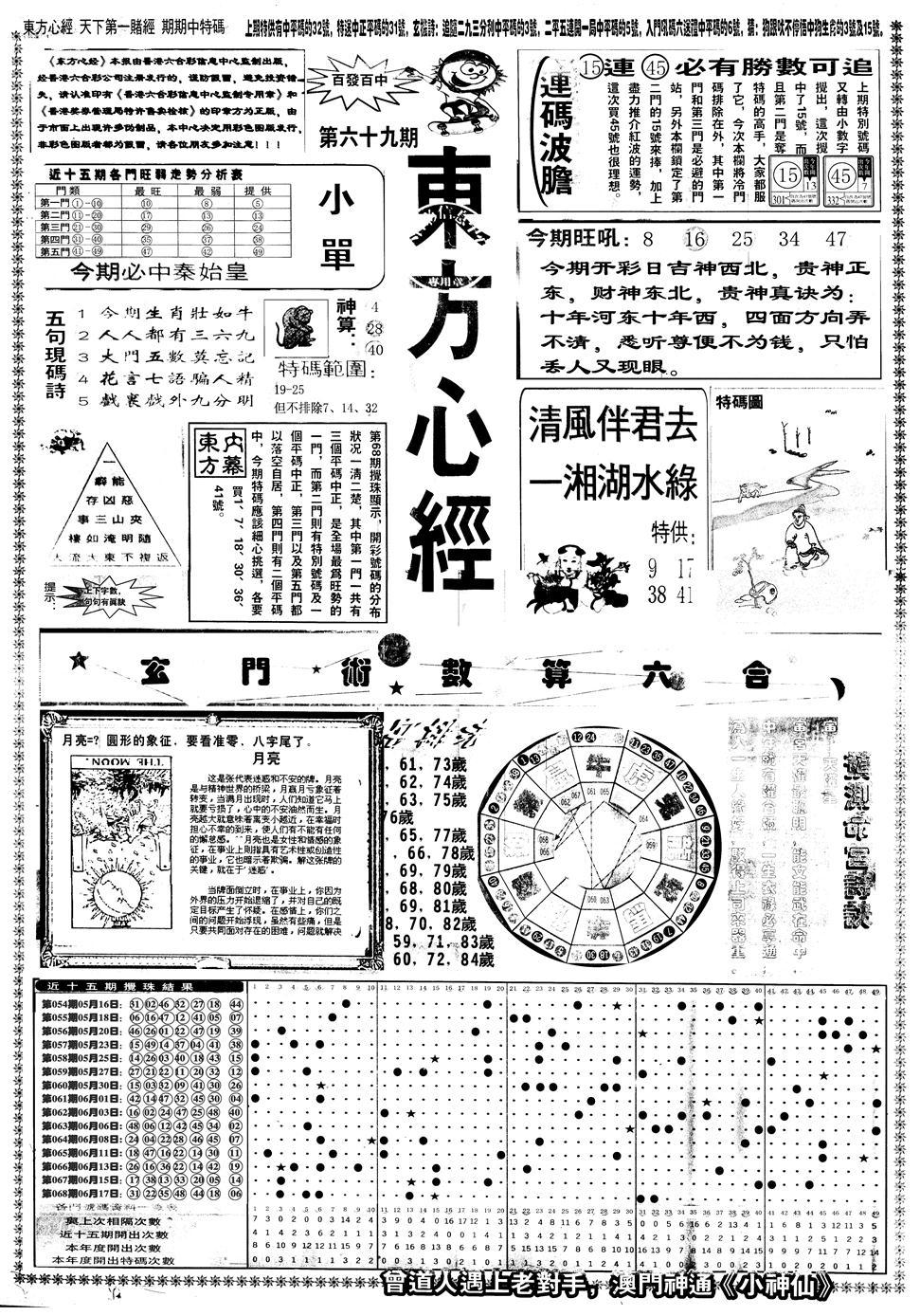 069期另版东方心经A