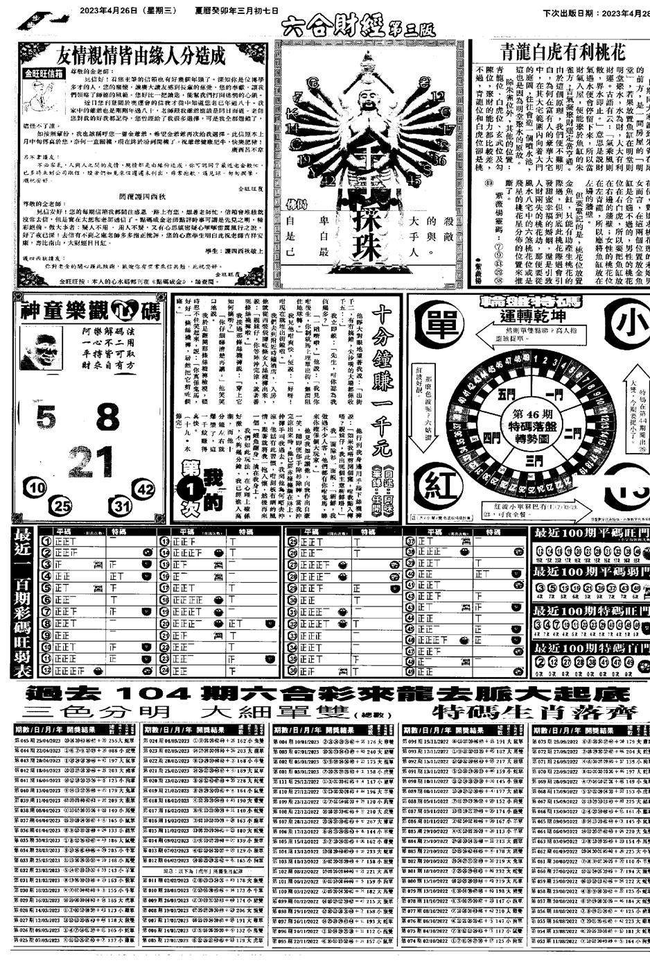 046期大财经C