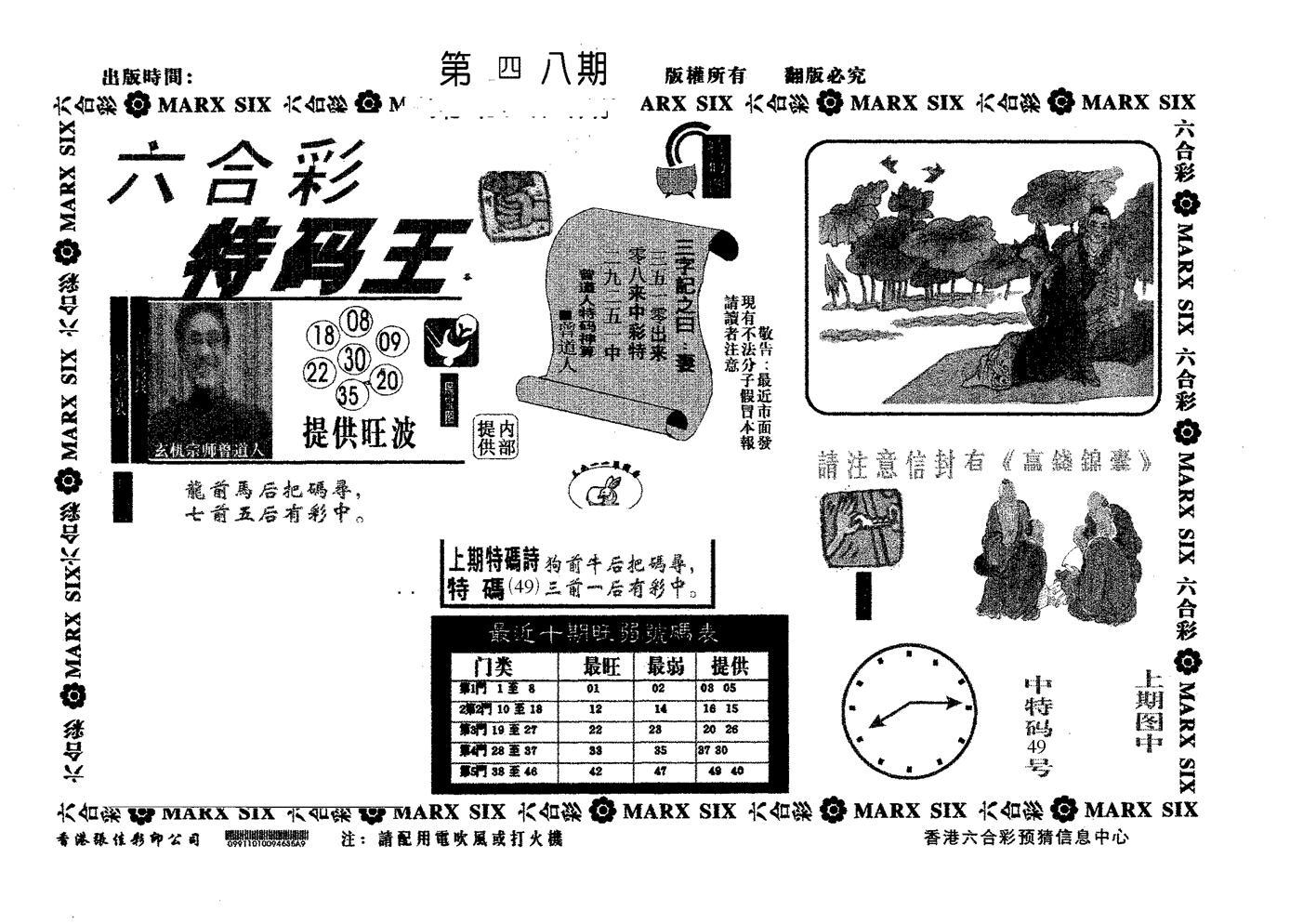 048期特码王B(黑白)