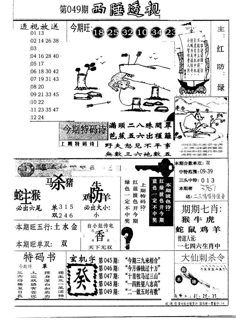 049期广东西陲透视(新报)(黑白)