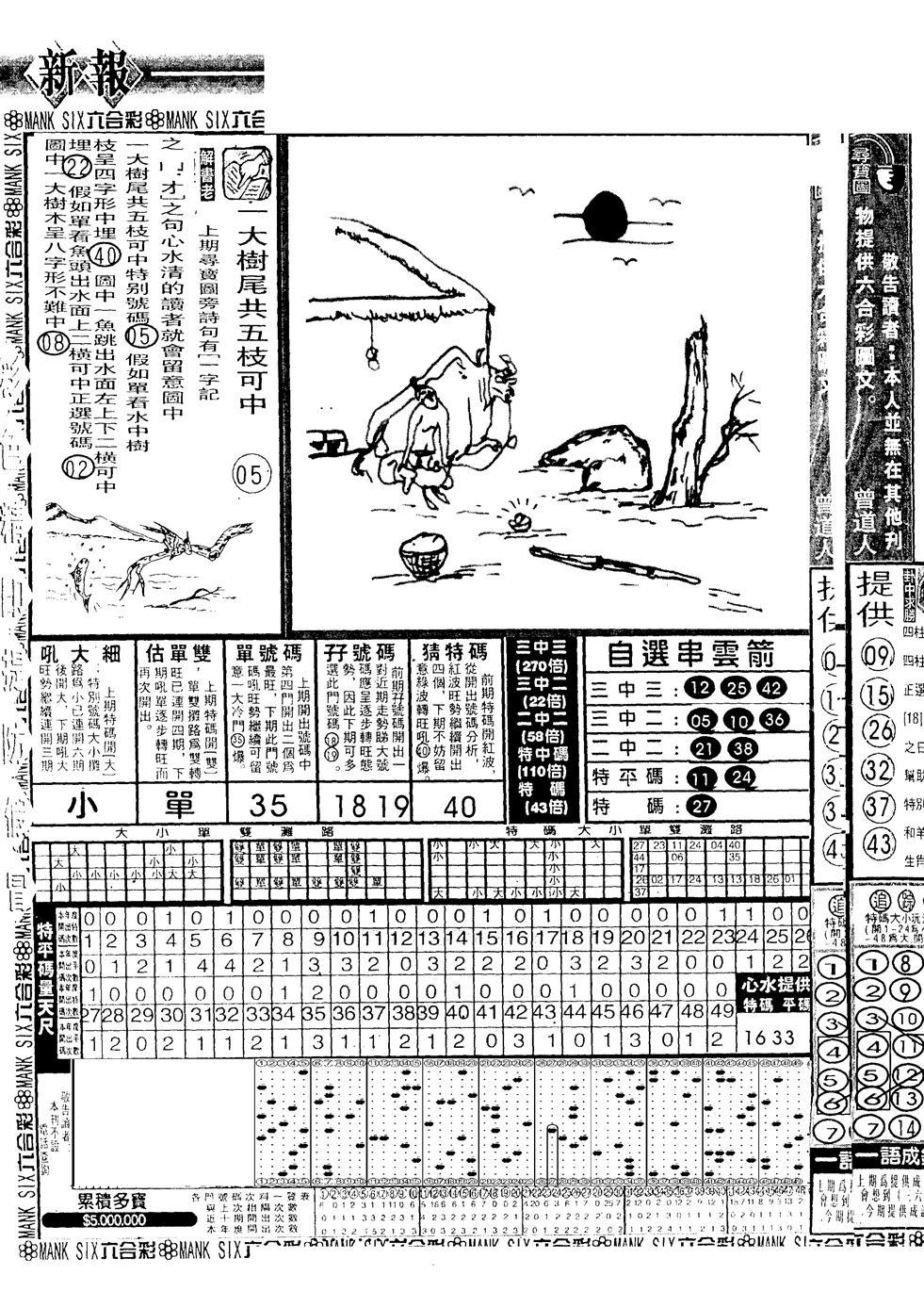 051期假新报跑狗A(黑白)