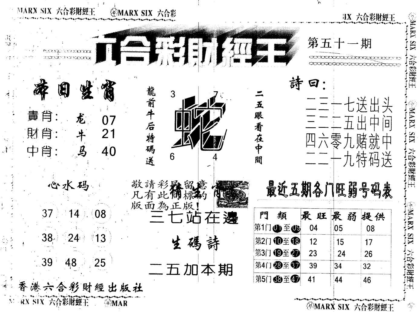051期另版财经王一(黑白)