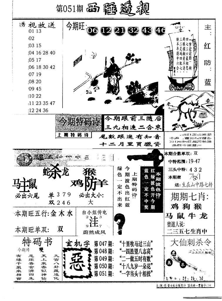 051期广东西陲透视(新报)(黑白)