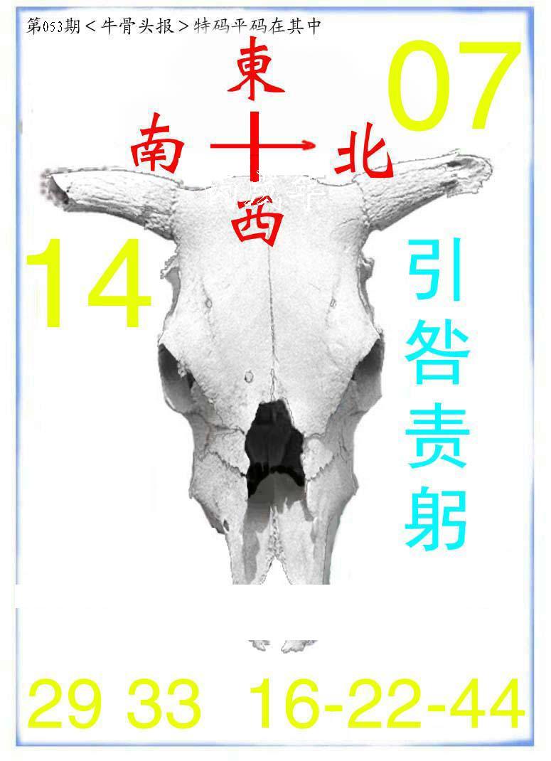 053期牛派系列7(黑白)