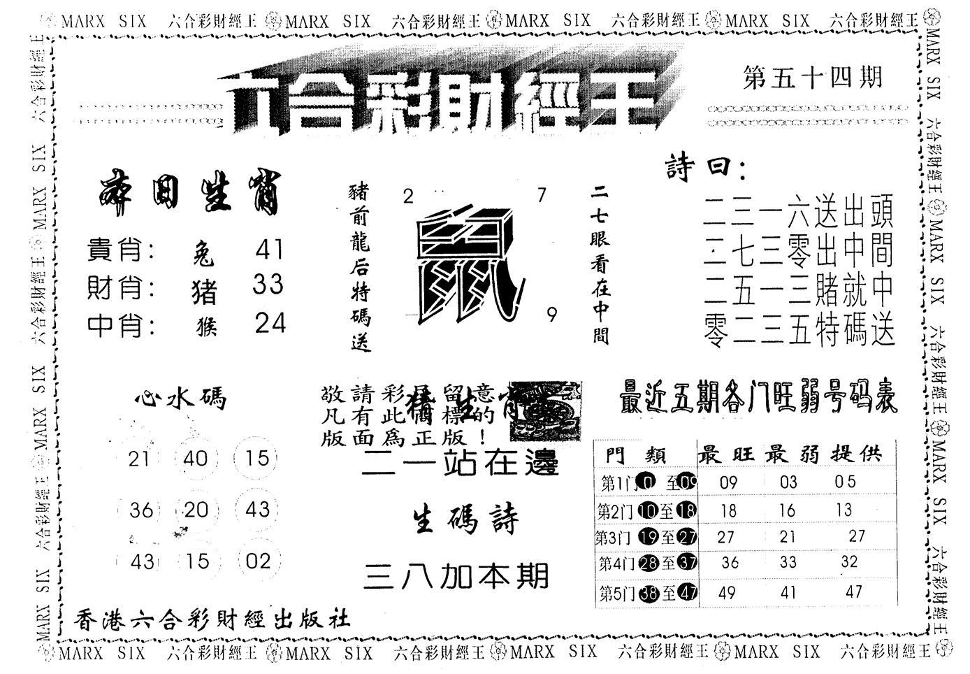 054期另版财经王一(黑白)