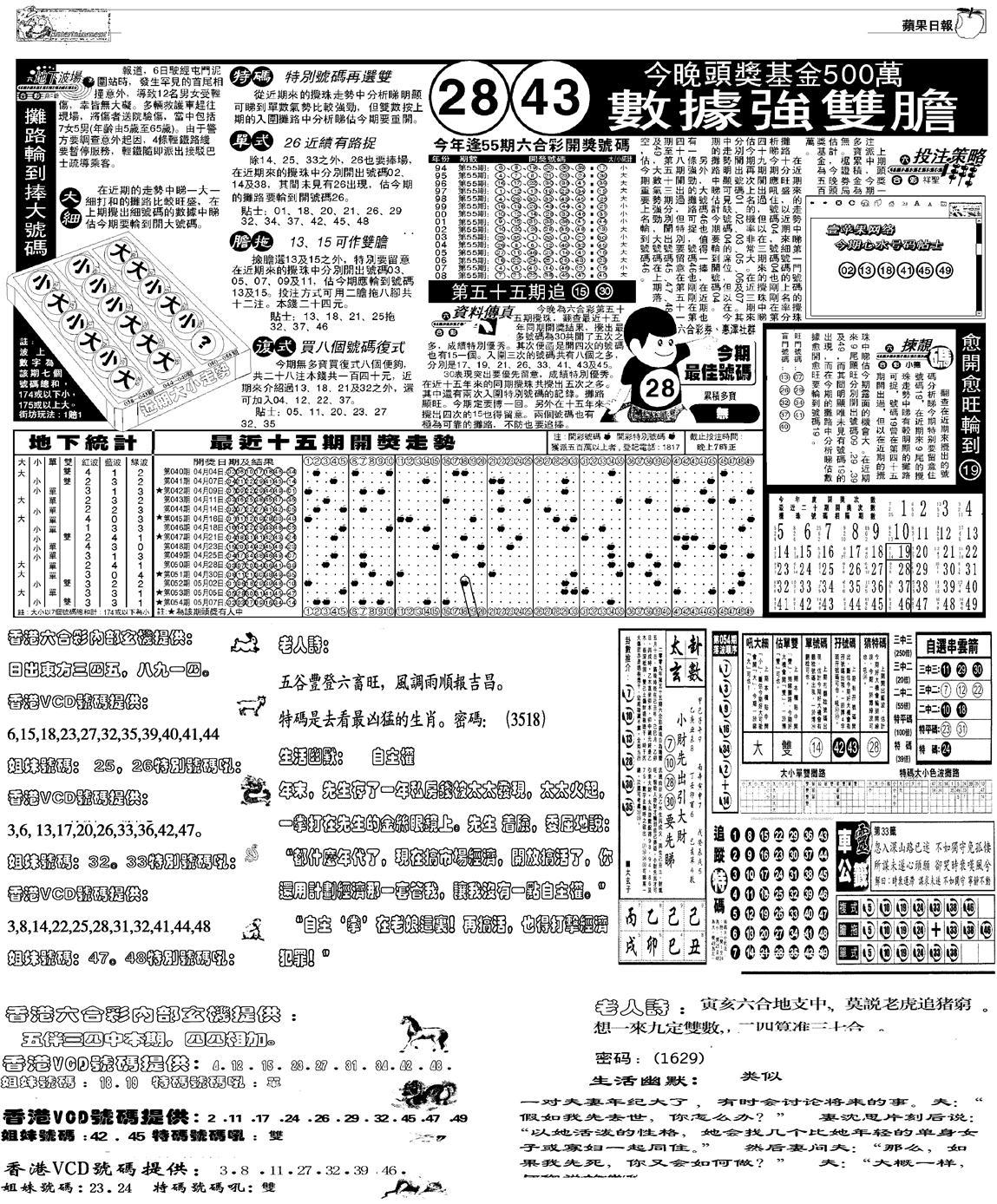 055期当日报-5(黑白)