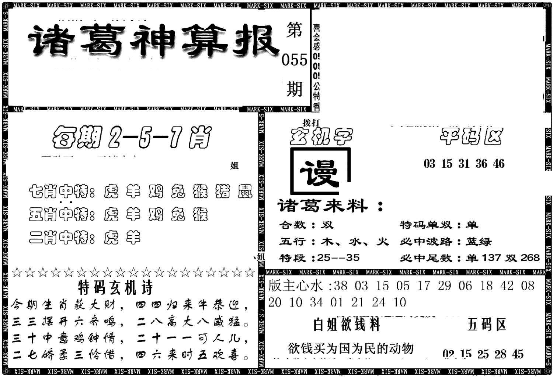 055期另新诸葛神算报(黑白)