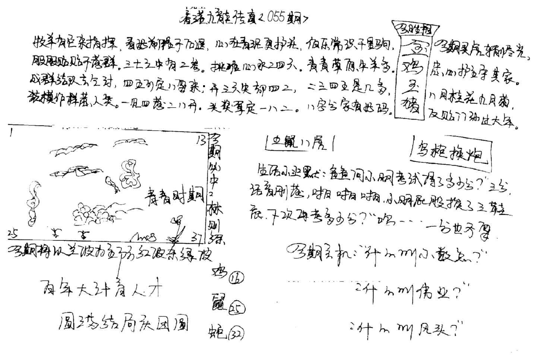 055期手写九龙内幕A(黑白)