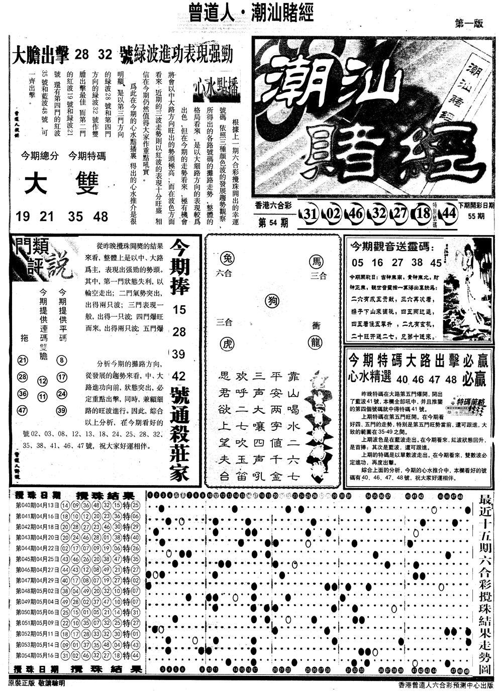 055期另版潮汕赌经A(黑白)