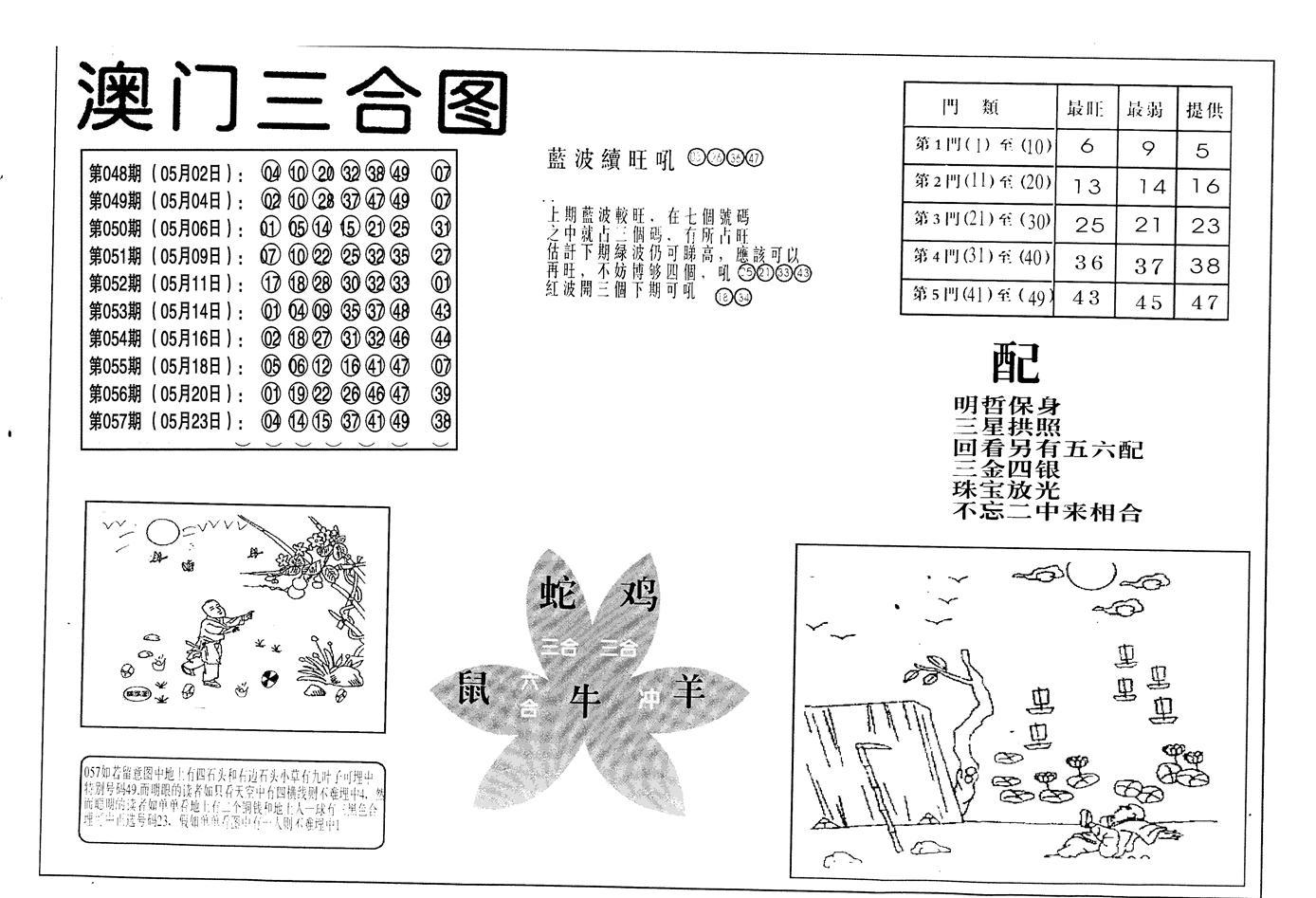 058期老潮汕台湾神算(黑白)