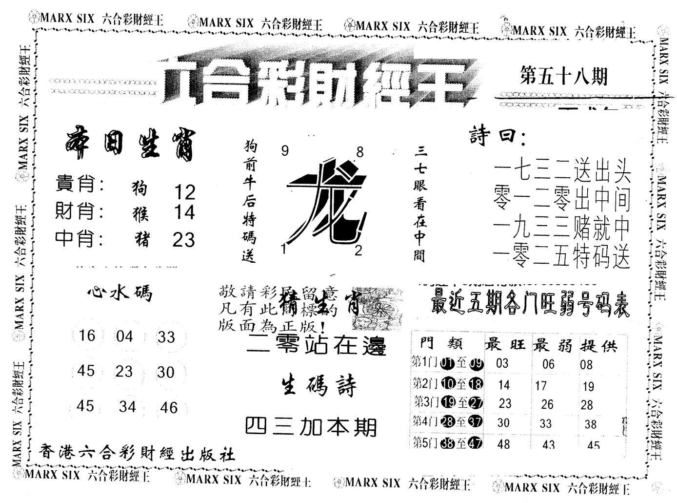058期另版财经王一(黑白)
