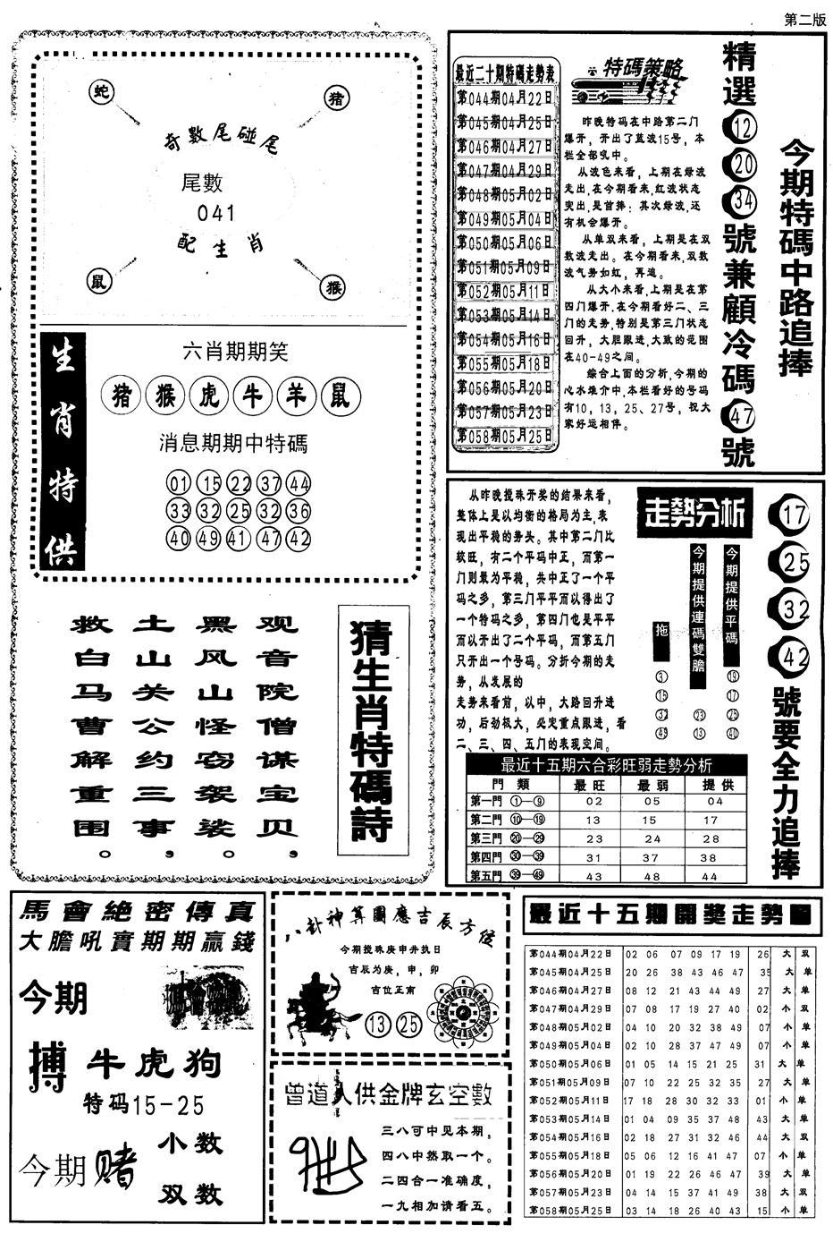 059期内幕消息B(黑白)