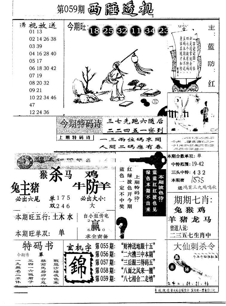 059期广东西陲透视(新报)(黑白)