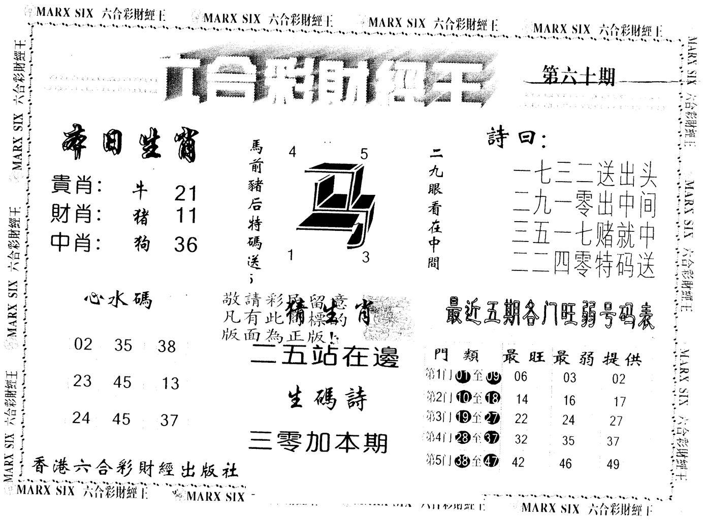 060期另版财经王一(黑白)
