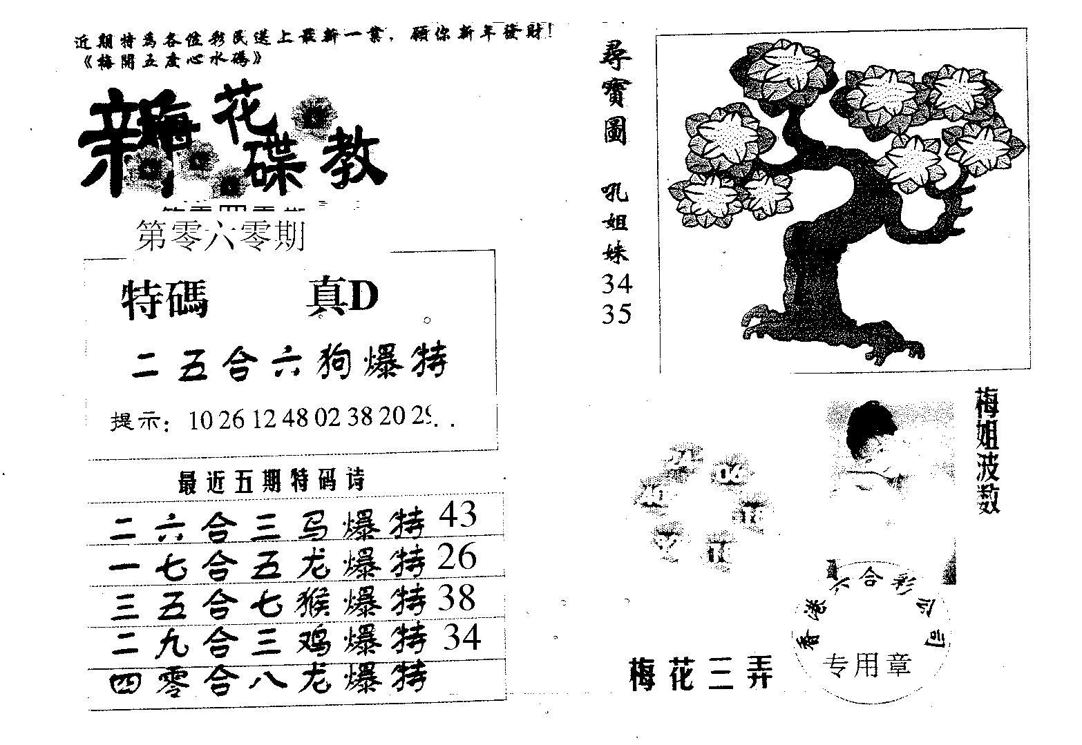 060期新花碟教(黑白)