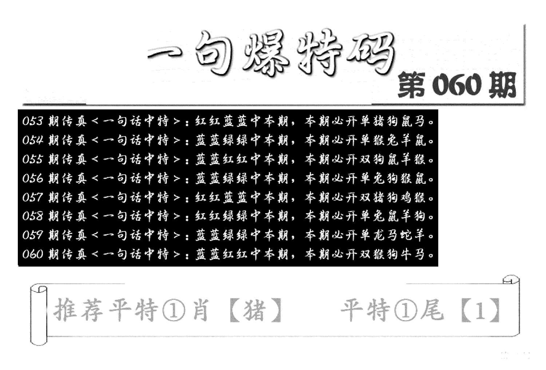 060期内幕透特(黑白)