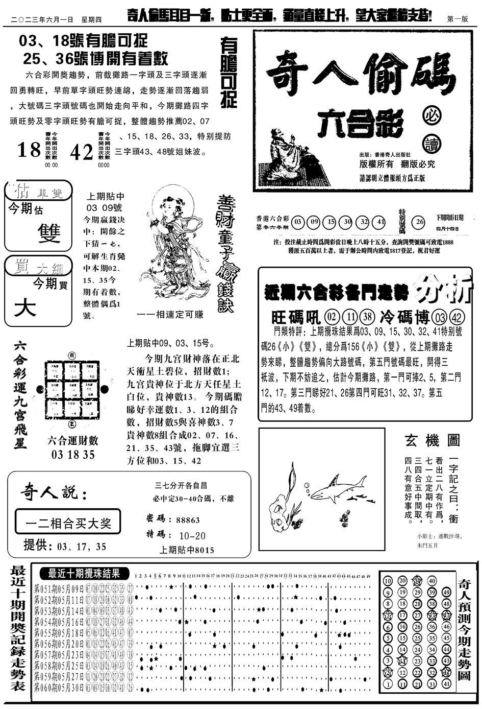 061期老奇人A(黑白)