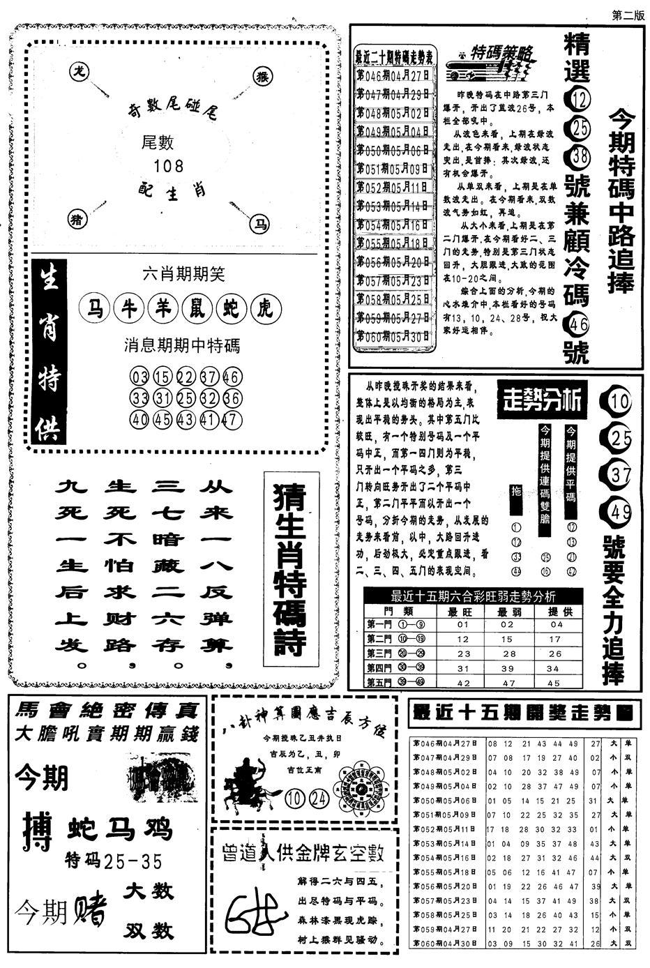 061期内幕消息B(黑白)