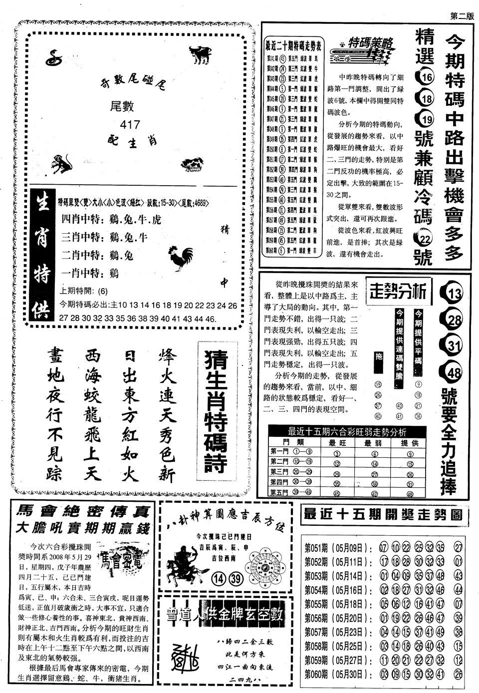 061期另内幕消息B(黑白)