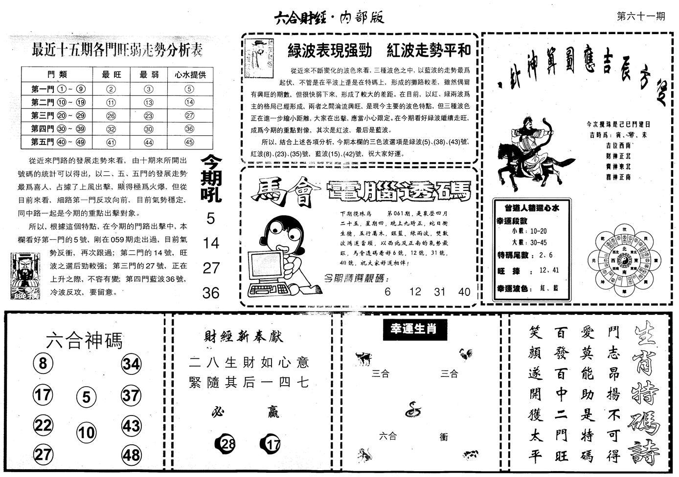 061期另版中财经B(黑白)
