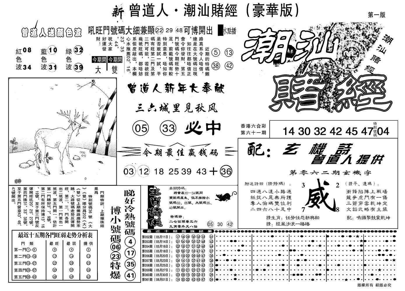 062期另潮汕赌经濠华版A(黑白)