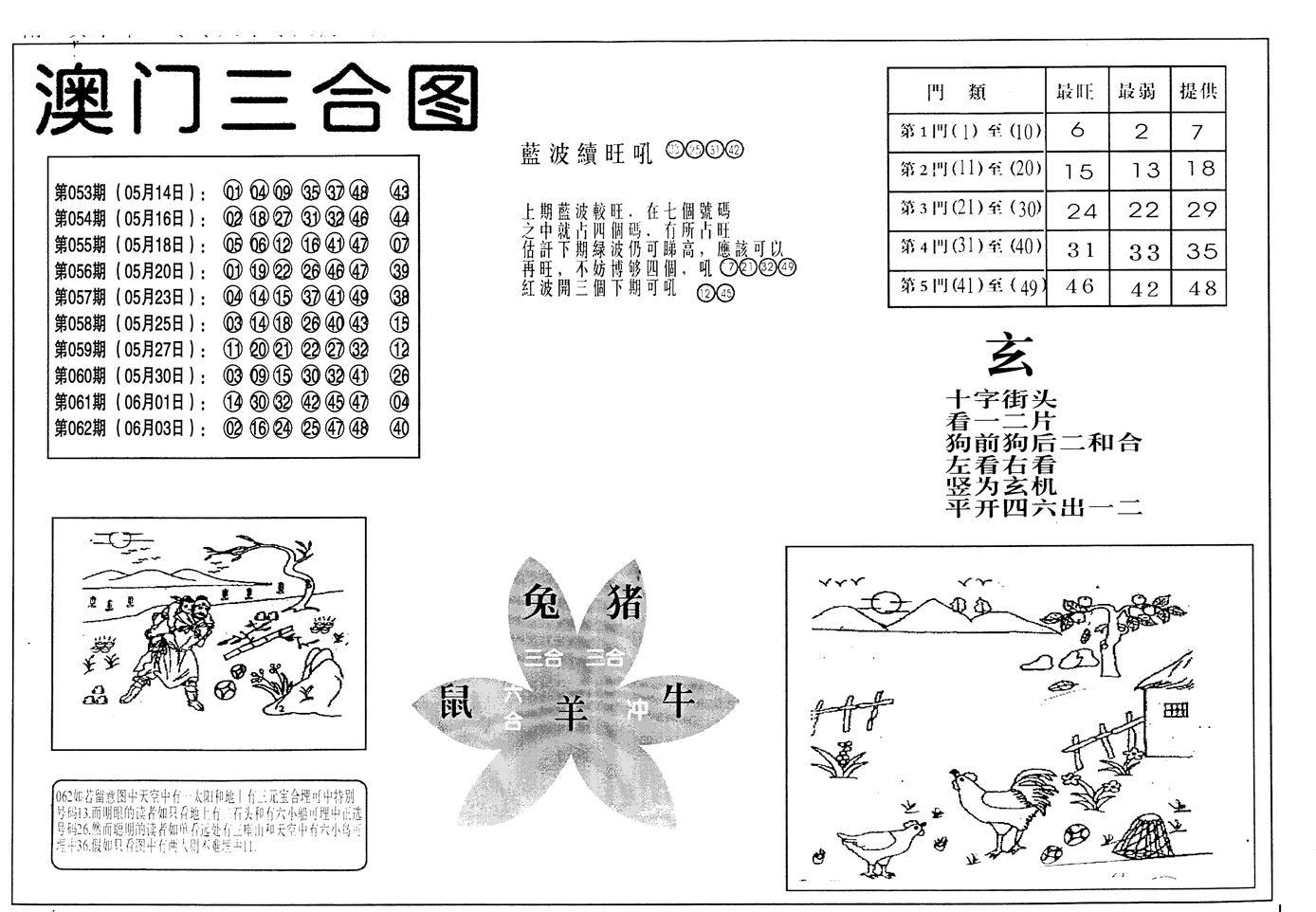 063期老潮汕台湾神算(黑白)