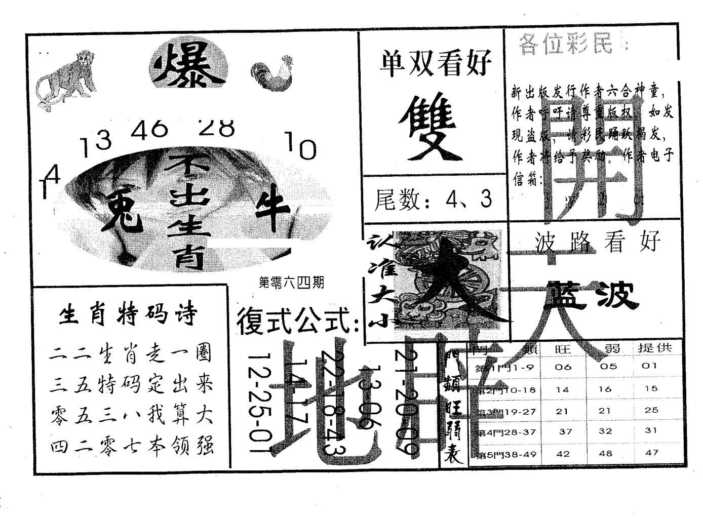 064期开天辟地(黑白)