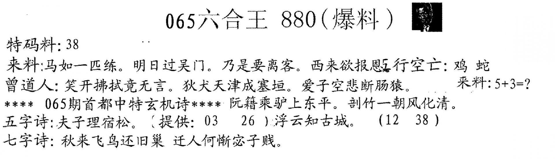 065期880来料(黑白)