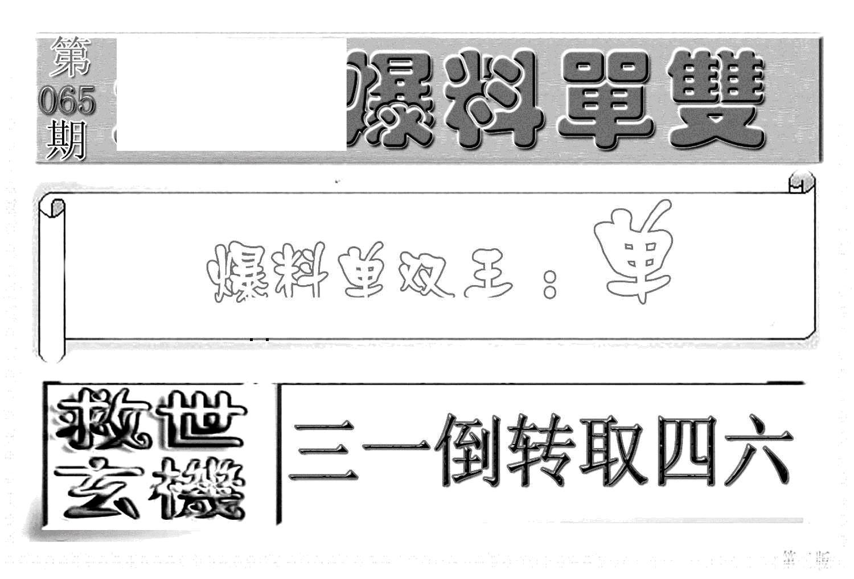 065期内幕特平王(黑白)