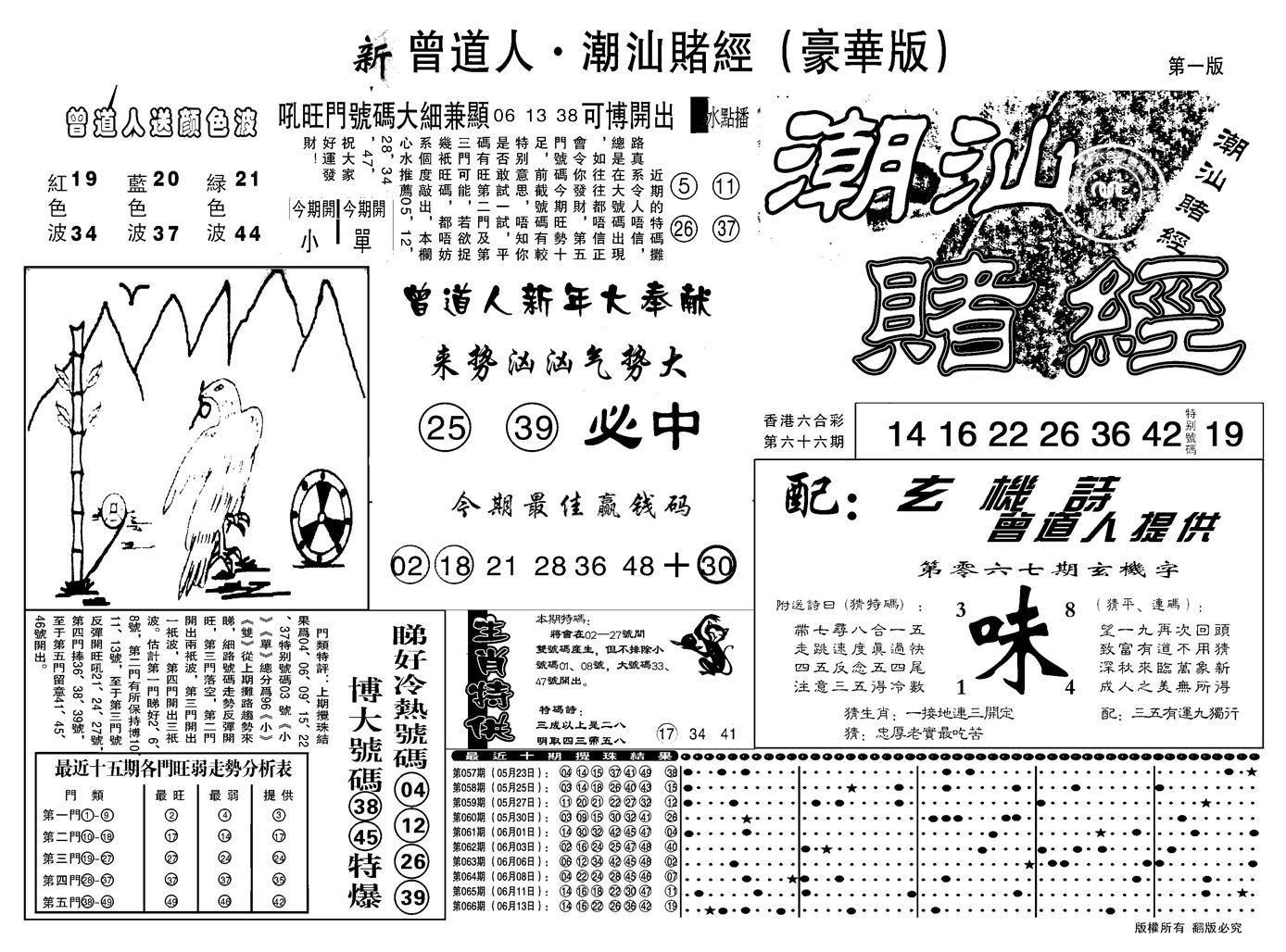 067期另潮汕赌经濠华版A(黑白)