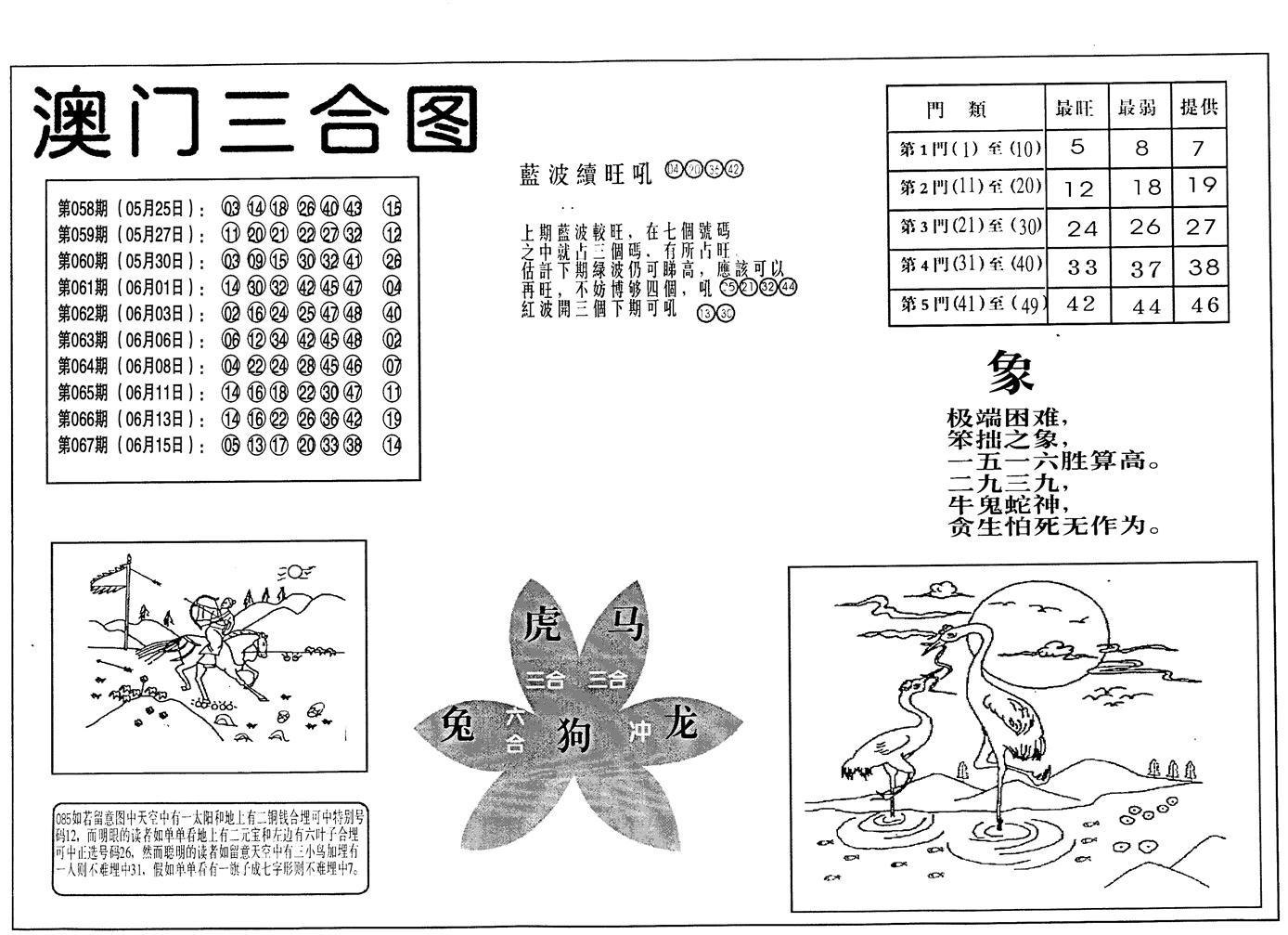 068期老潮汕台湾神算(黑白)