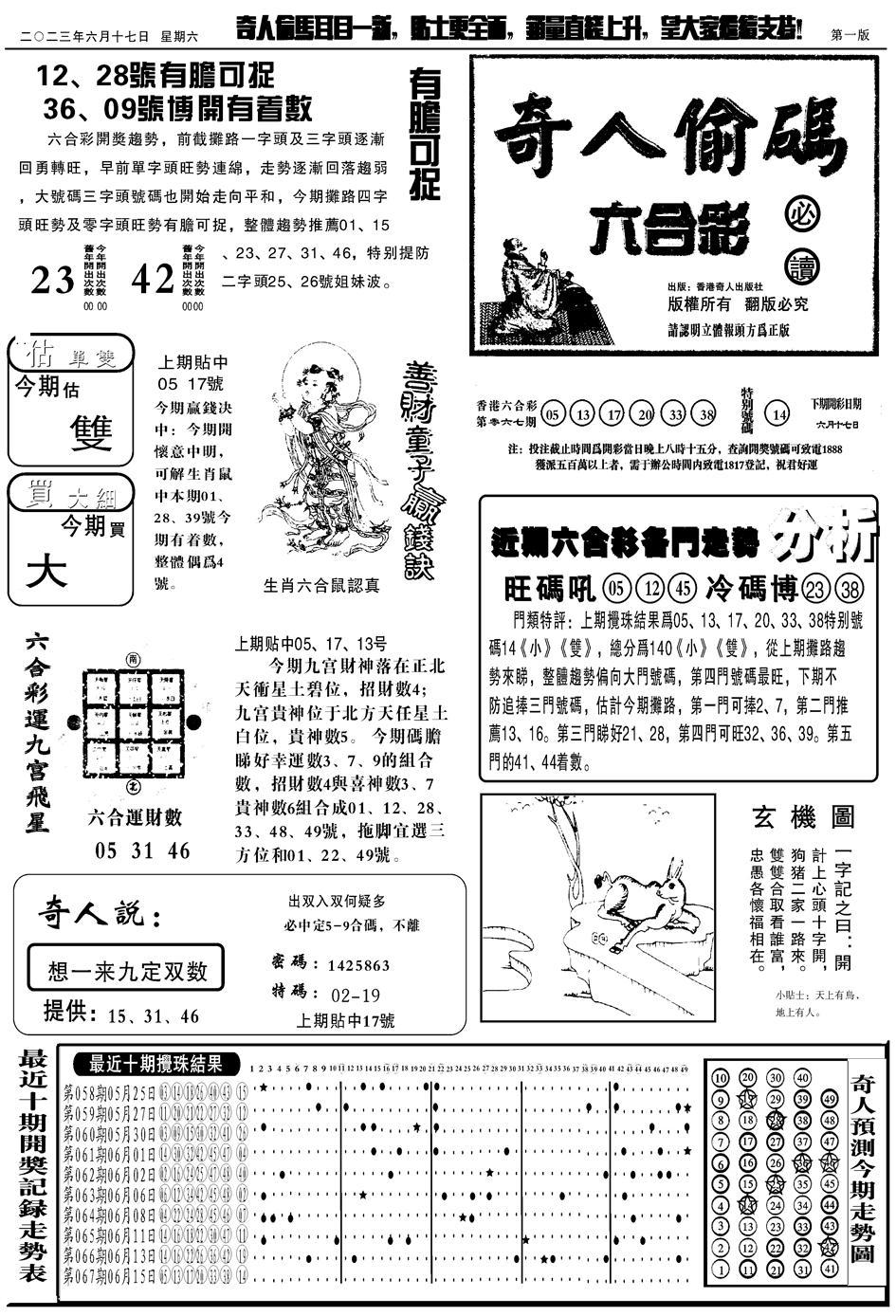 068期老奇人A(黑白)