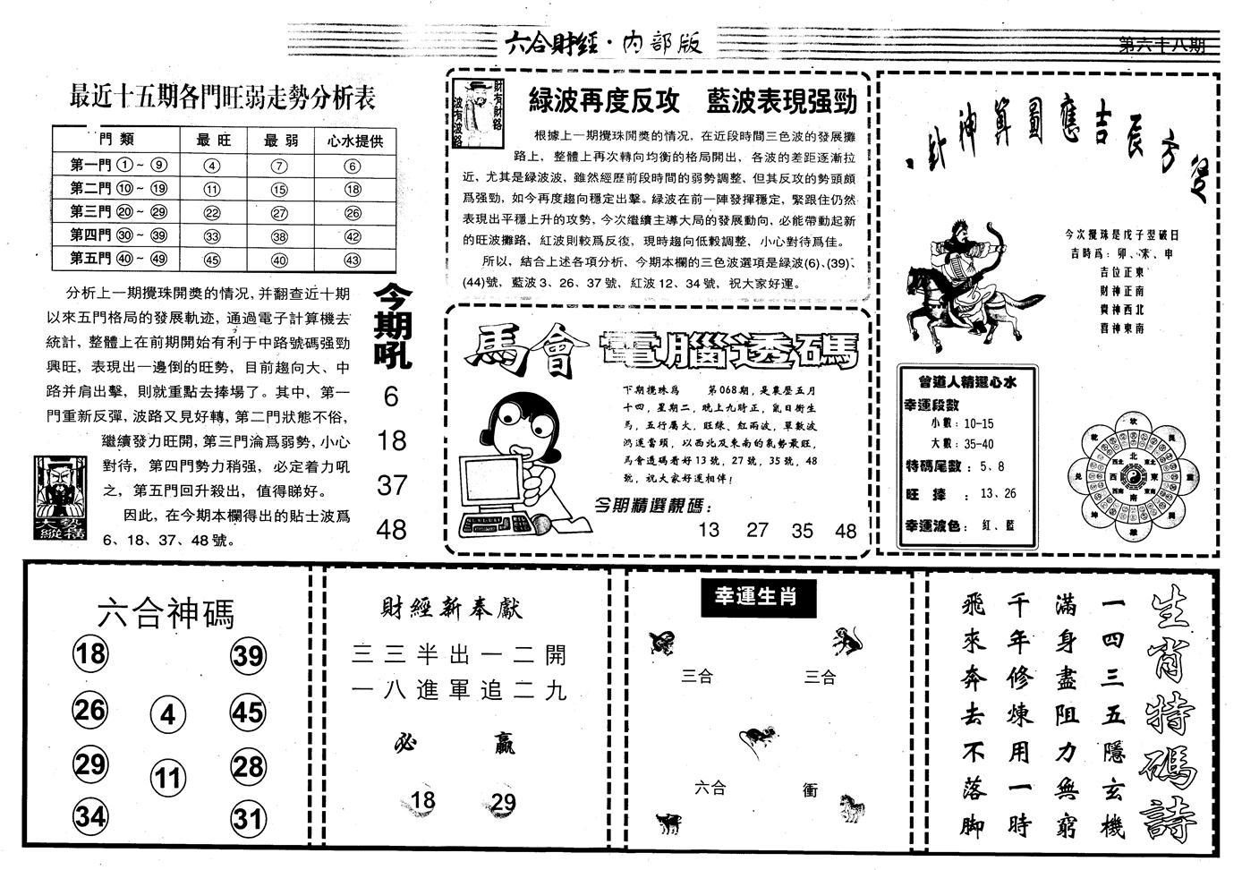 068期另版中财经B(黑白)