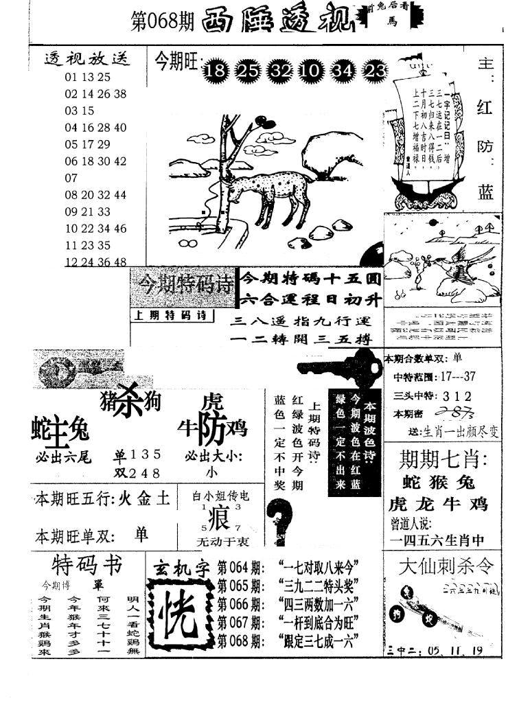068期广东西陲透视(新报)(黑白)