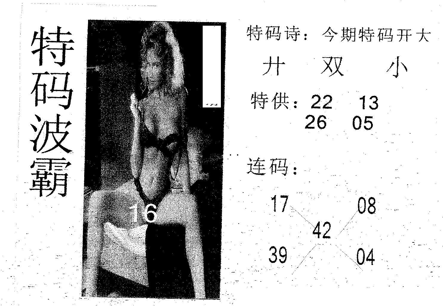069期特码波霸(黑白)