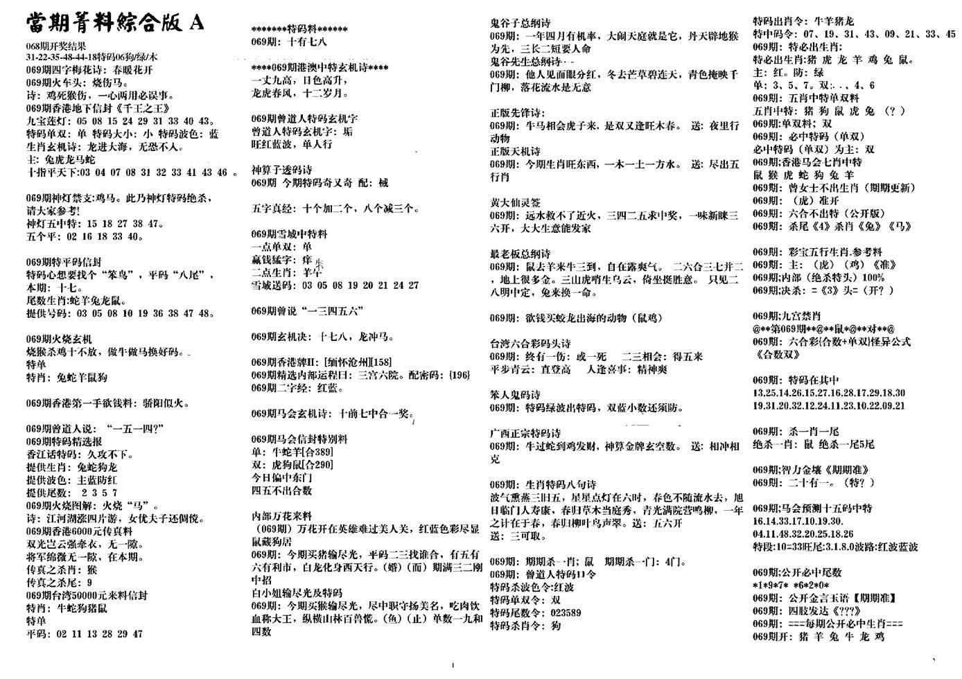 069期投资指南(黑白)