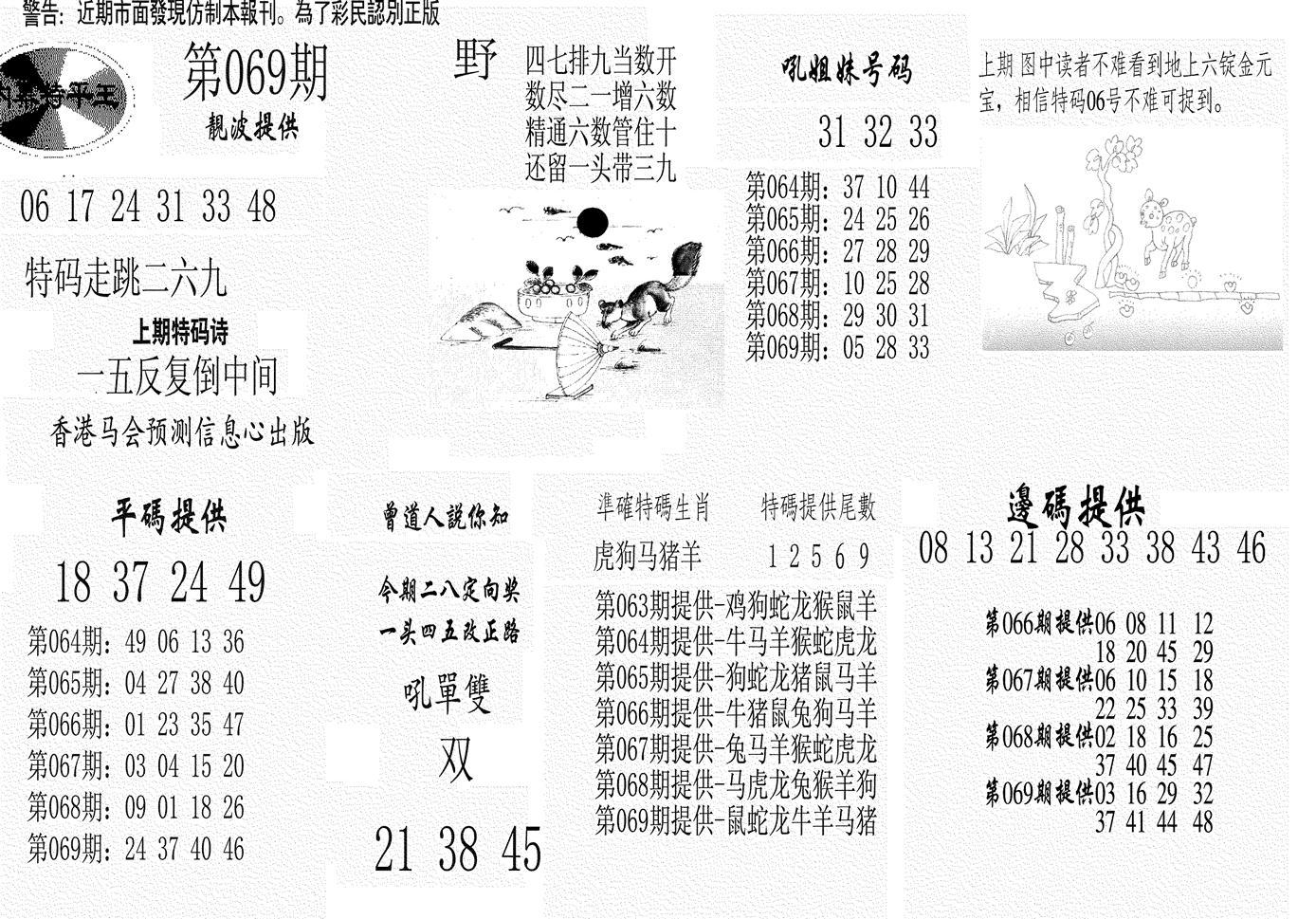 069期内幕特平王(黑白)