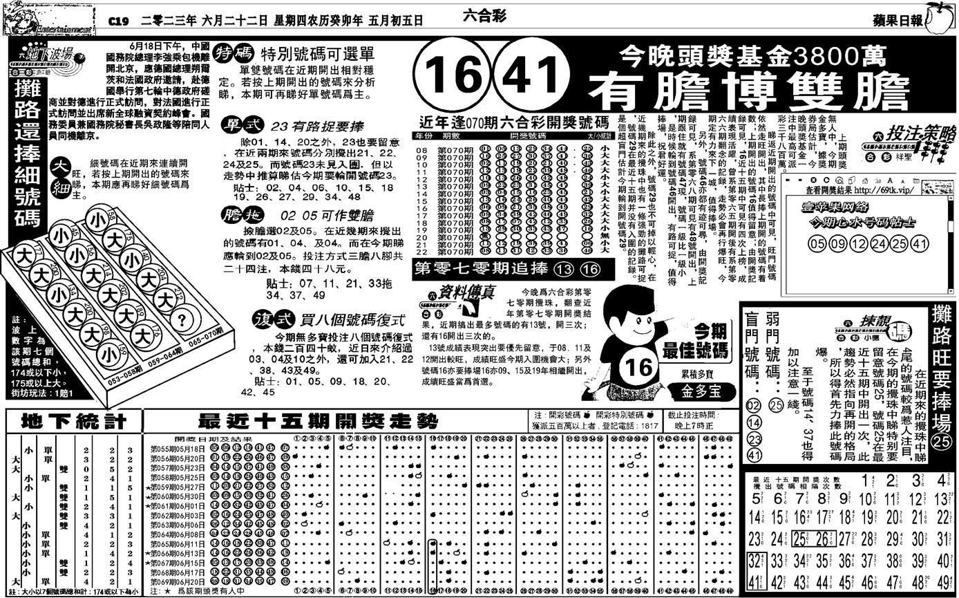 070期私作苹果报B(自决)(黑白)