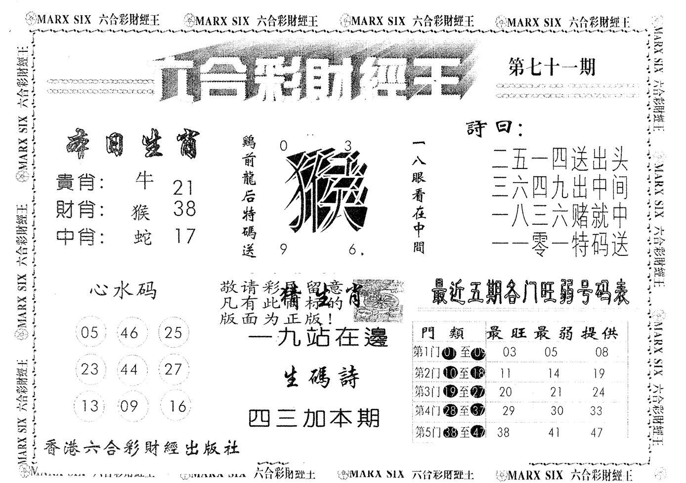 071期另版财经王一(黑白)