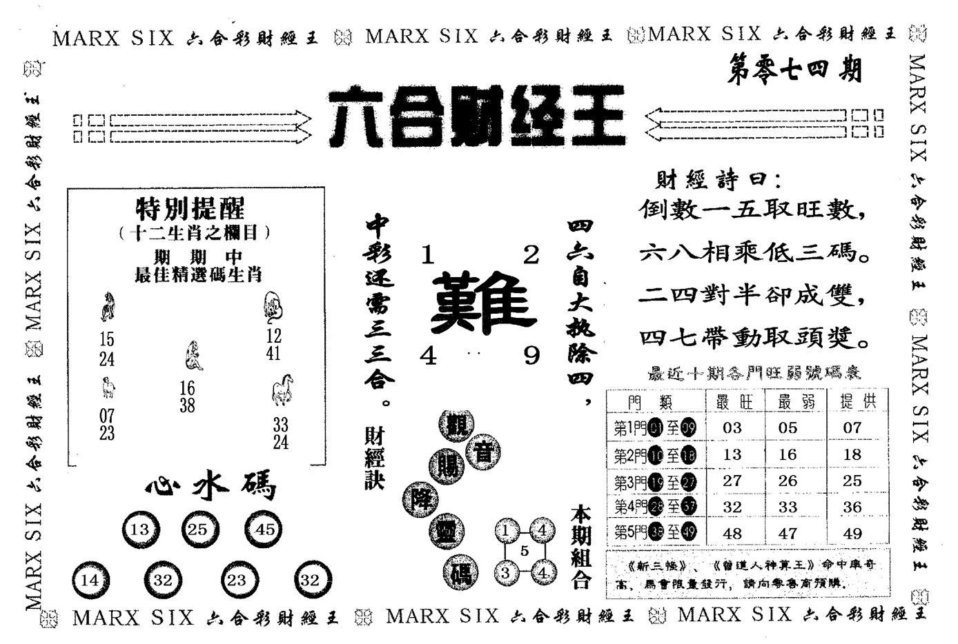 074期财经王二(黑白)