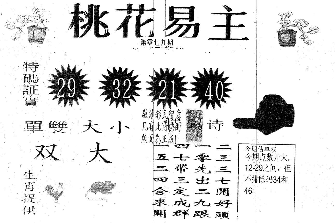079期桃花易主(黑白)