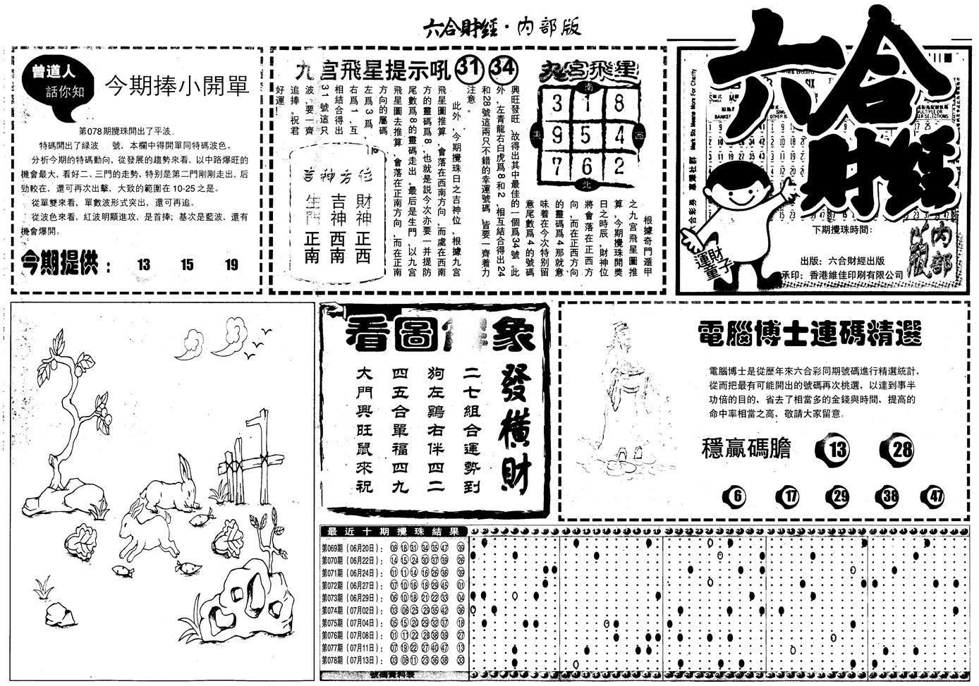 079期另版中财经A(黑白)