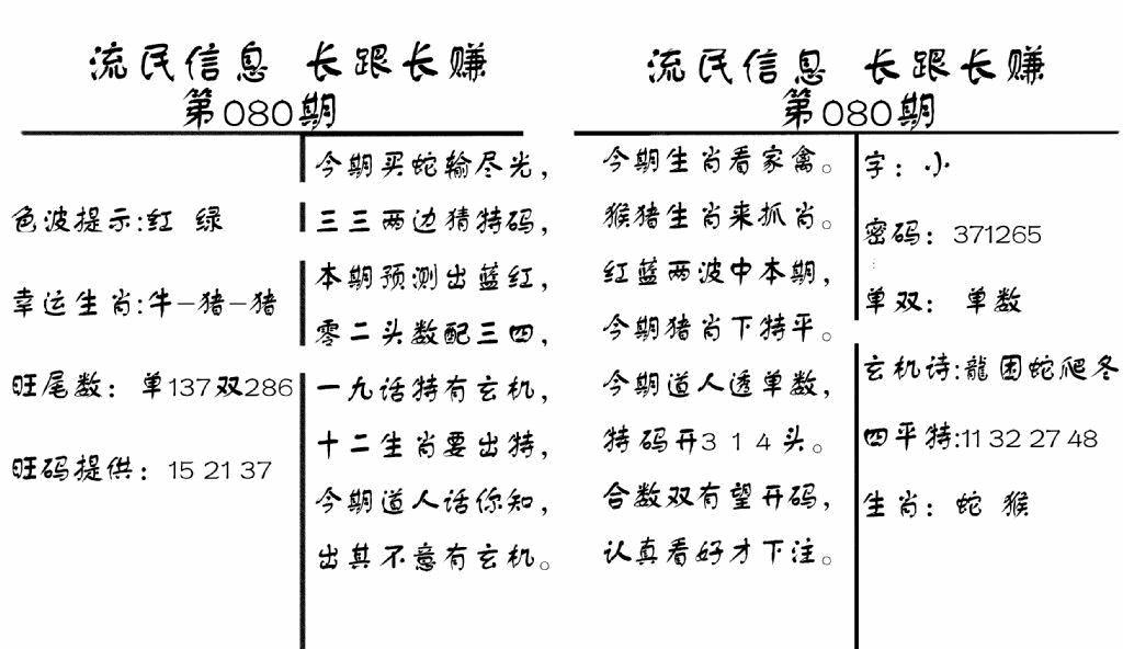 080期流民信息(黑白)