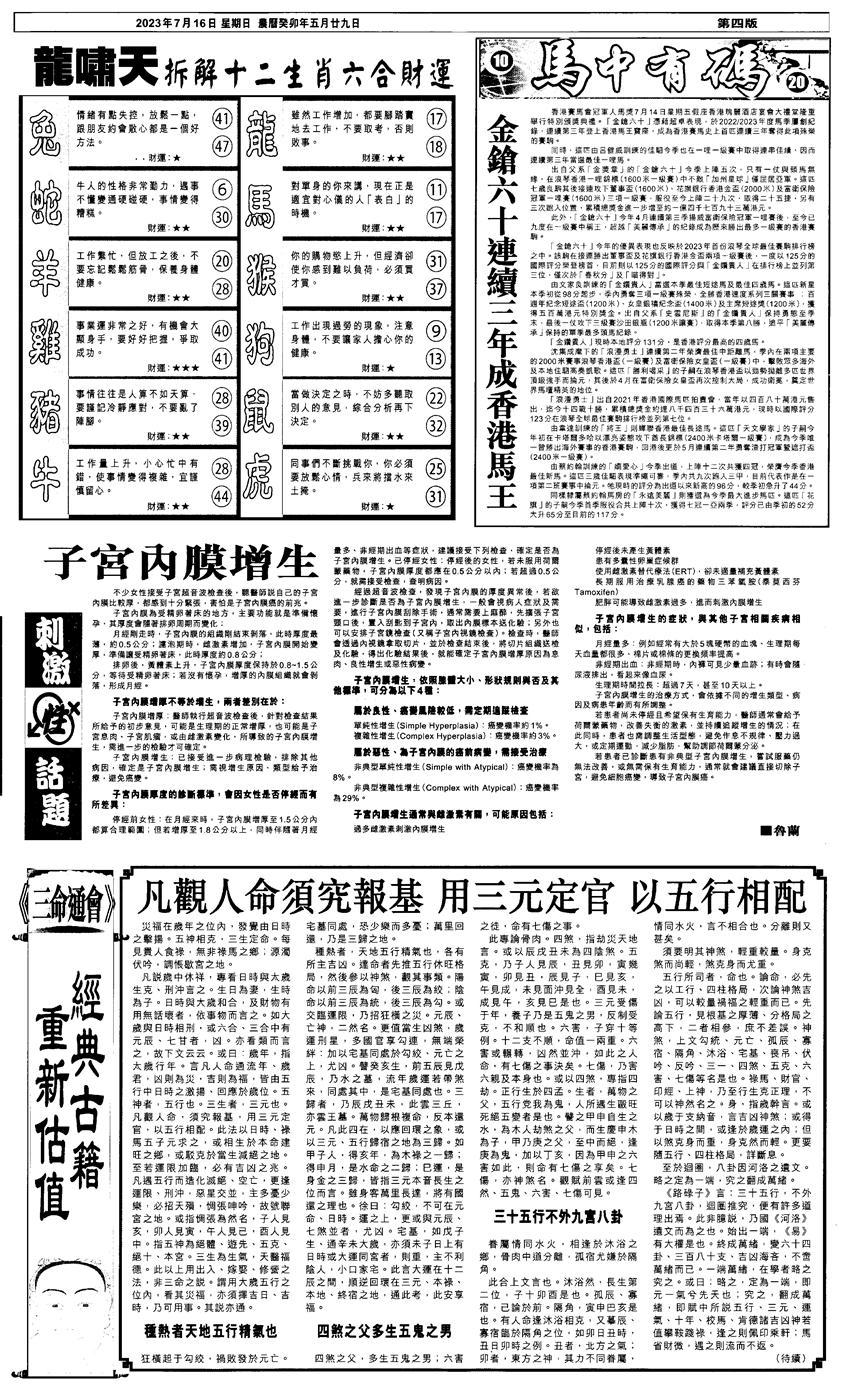 080期新报跑狗2(黑白)