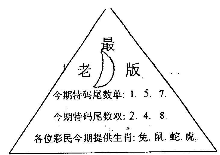 081期三角圈(黑白)