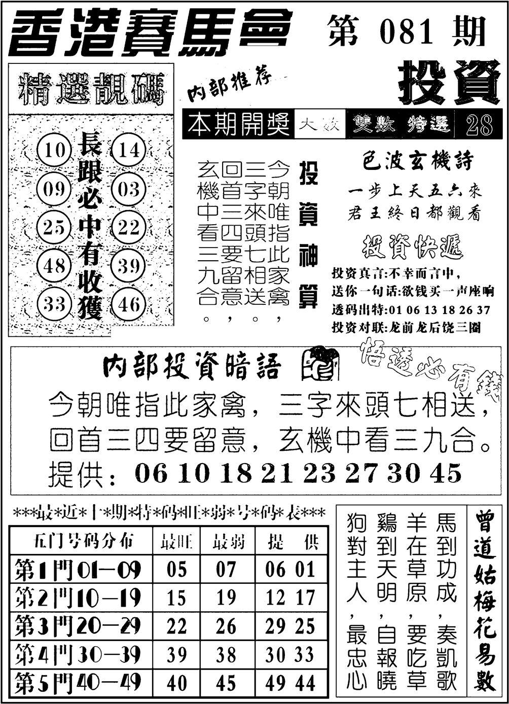 081期九龙投资(黑白)
