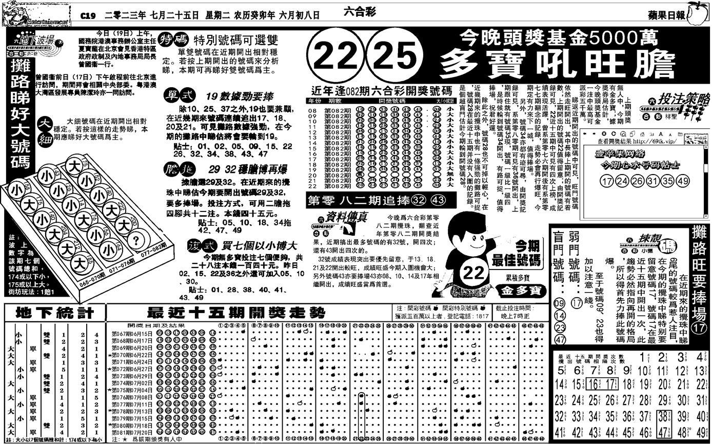 082期私作苹果报B(自决)(黑白)