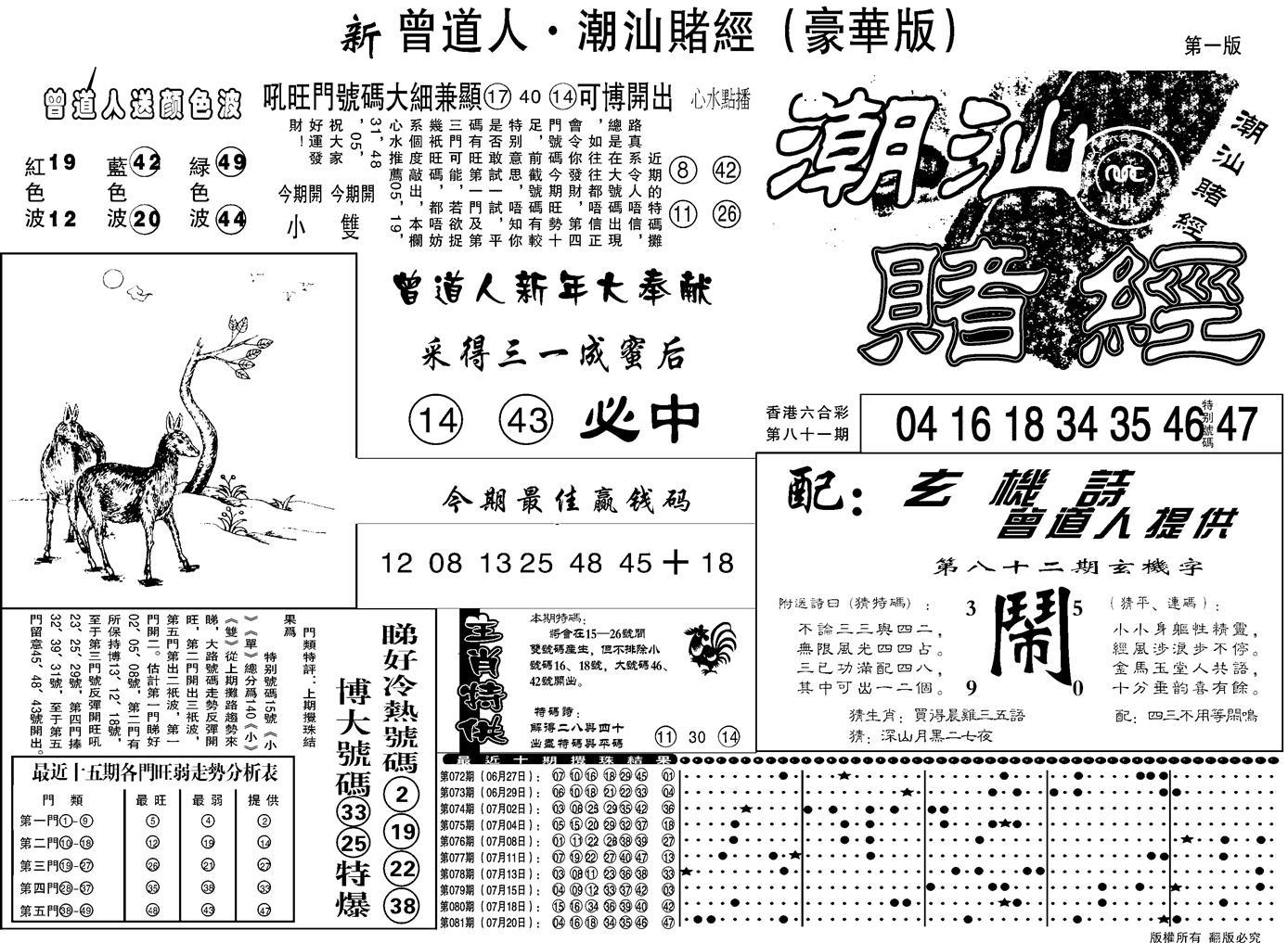 082期另潮汕赌经濠华版A(黑白)