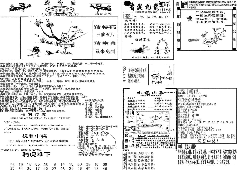 084期新透密数A(新)(黑白)