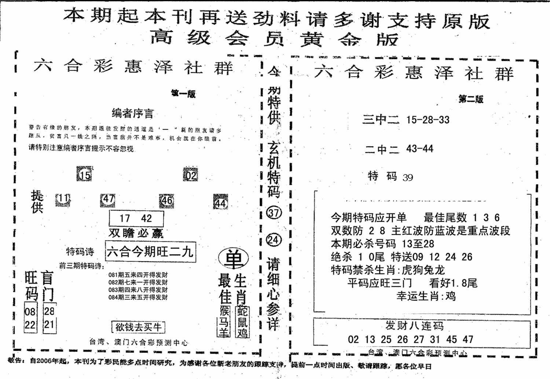 084期高级会员黄金版(黑白)